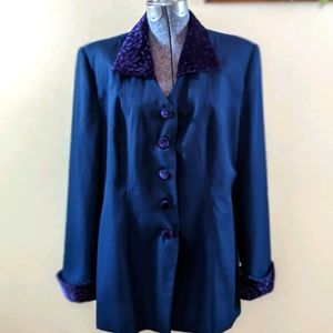 Vintage Champagne Italy Suit Jacket